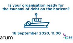 WATCH ON DEMAND - Is your organisation ready for the tsunami of debt on the horizon?